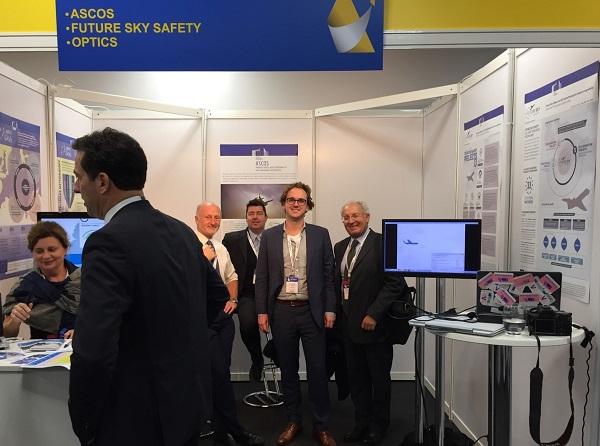 Future Sky Safety dissemination team at Aerodays2015